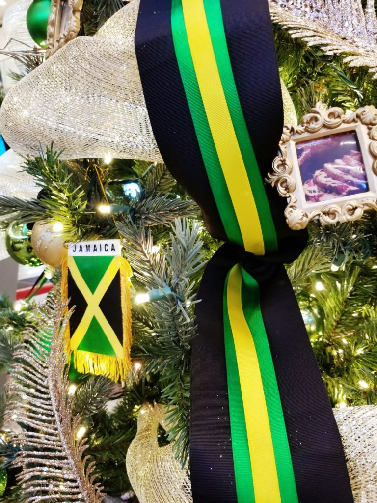 Decorating The Jamaican Christmas Tree For Hartsfield